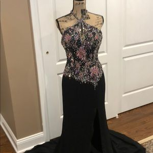 The Crown Collection black gown